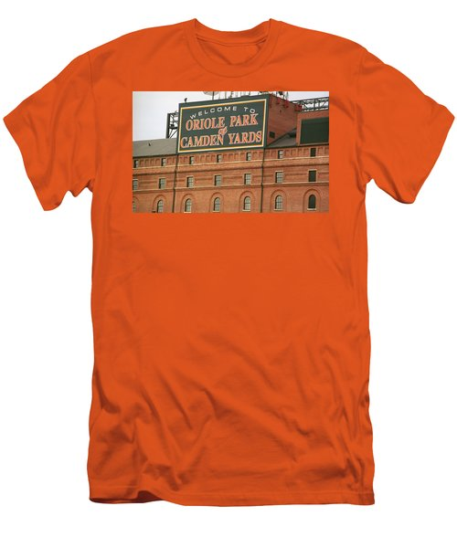 Baltimore Orioles Park At Camden Yards Men's T-Shirt (Athletic Fit)