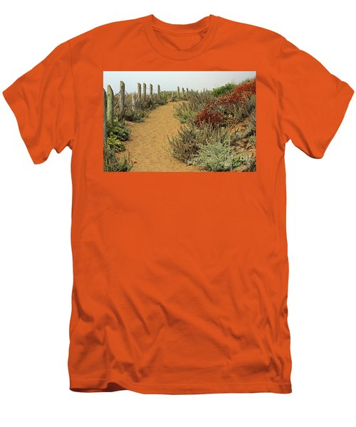 Men's T-Shirt (Slim Fit) featuring the photograph Beach Dune  by Kate Brown
