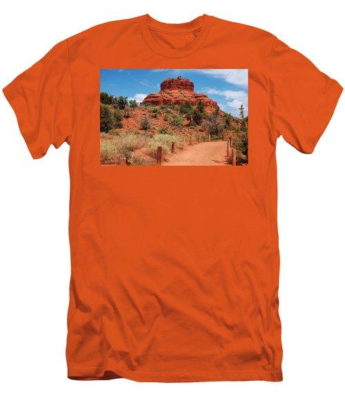 Bell Rock - Sedona Men's T-Shirt (Athletic Fit)