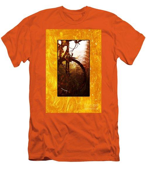 Bicycle  Men's T-Shirt (Slim Fit) by Randi Grace Nilsberg
