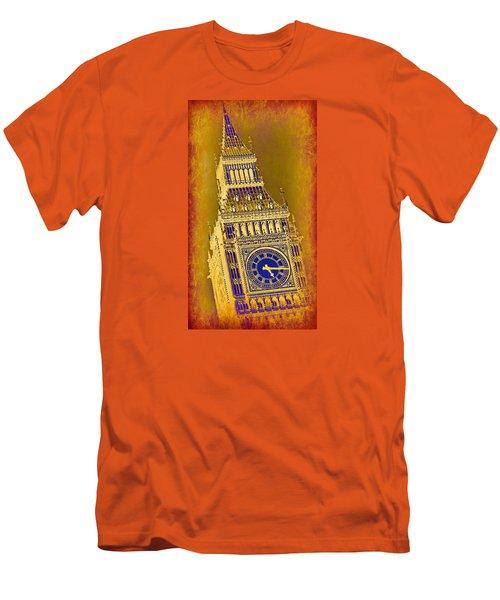 Big Ben 3 Men's T-Shirt (Slim Fit) by Stephen Stookey