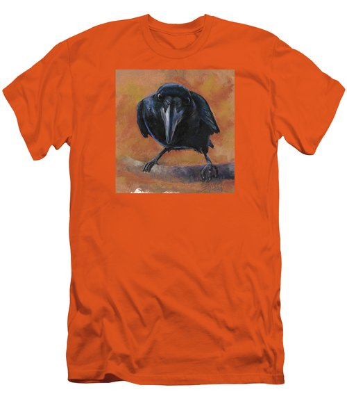 Bird  Watching Men's T-Shirt (Slim Fit) by Billie Colson