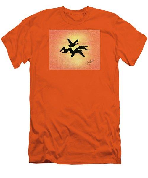 Birds Of Flight Men's T-Shirt (Slim Fit)