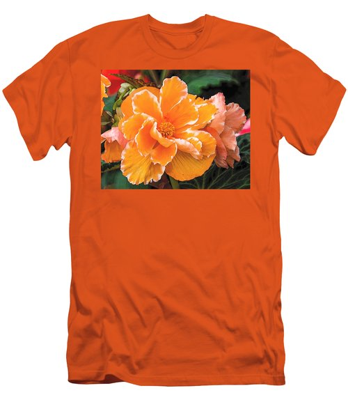 Blooming Begonia Image 1 Men's T-Shirt (Athletic Fit)
