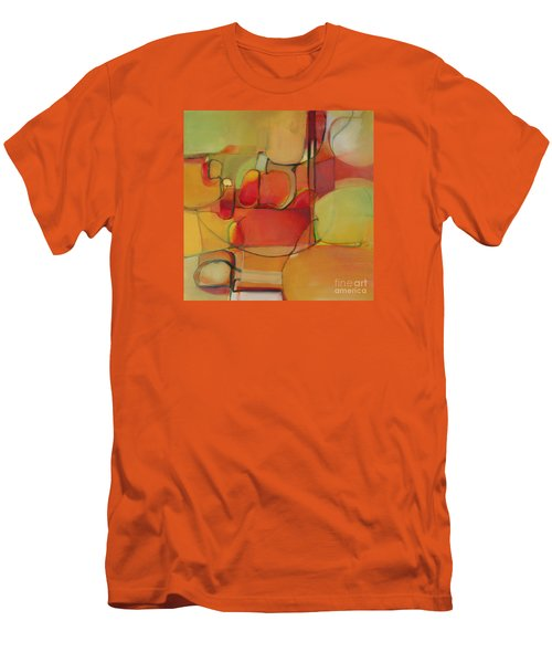 Men's T-Shirt (Slim Fit) featuring the painting Bowl Of Fruit by Michelle Abrams