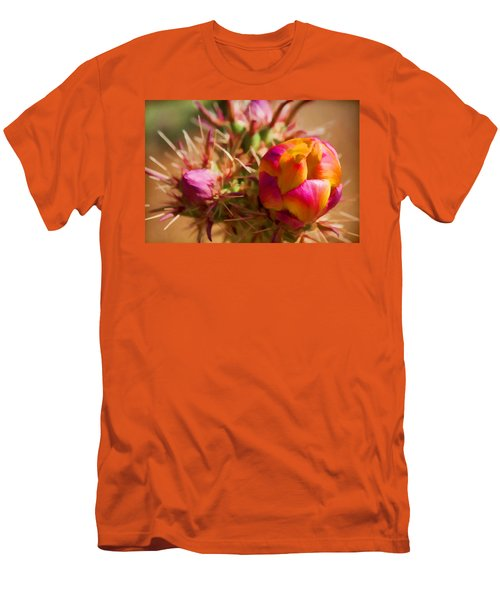 Budding Cactus Men's T-Shirt (Athletic Fit)