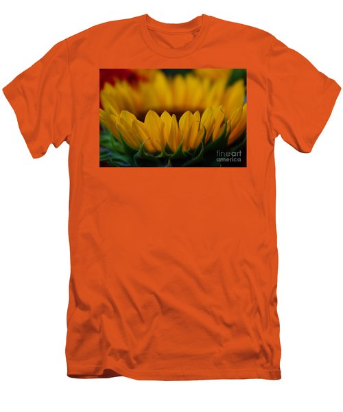Men's T-Shirt (Slim Fit) featuring the photograph Burning Ring Of Fire by John S