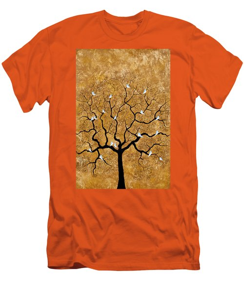 By The Tree Men's T-Shirt (Slim Fit) by Sumit Mehndiratta