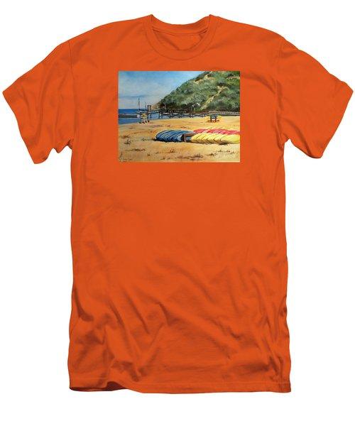 Camp Del Corazon  Men's T-Shirt (Athletic Fit)