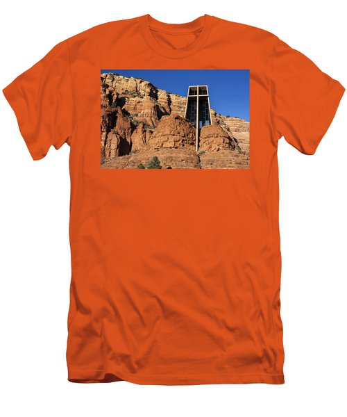 Chapel Of The Holy Cross Men's T-Shirt (Athletic Fit)