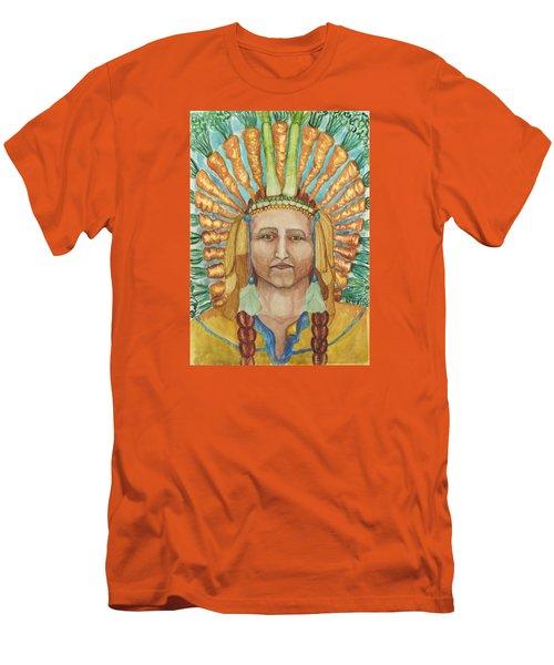 Chief 24 Carrots Men's T-Shirt (Athletic Fit)
