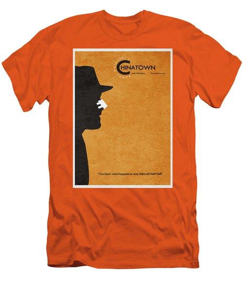 Chinatown Men's T-Shirt (Slim Fit) by Ayse Deniz