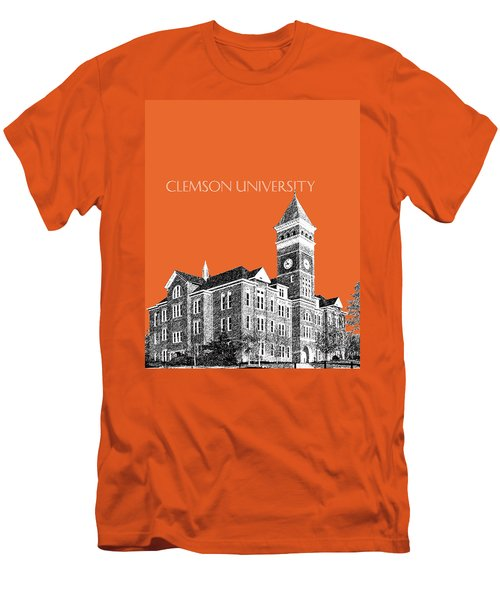Clemson University - Coral Men's T-Shirt (Athletic Fit)