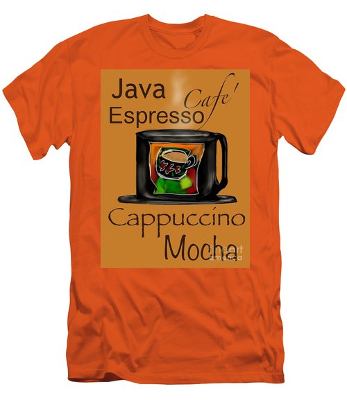 Coffee Break Men's T-Shirt (Slim Fit) by Christine Fournier