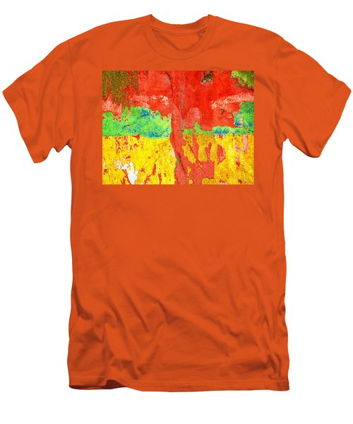 Color Splash  Men's T-Shirt (Athletic Fit)