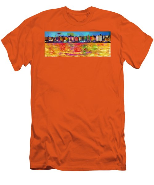 Colorful Coney Island Men's T-Shirt (Athletic Fit)