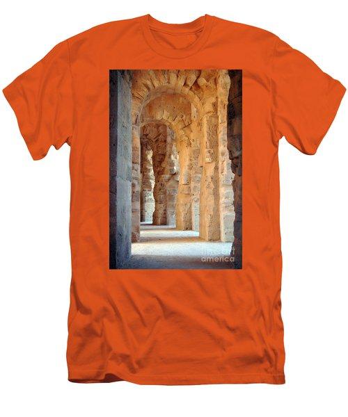 Columns Men's T-Shirt (Slim Fit) by Randi Grace Nilsberg