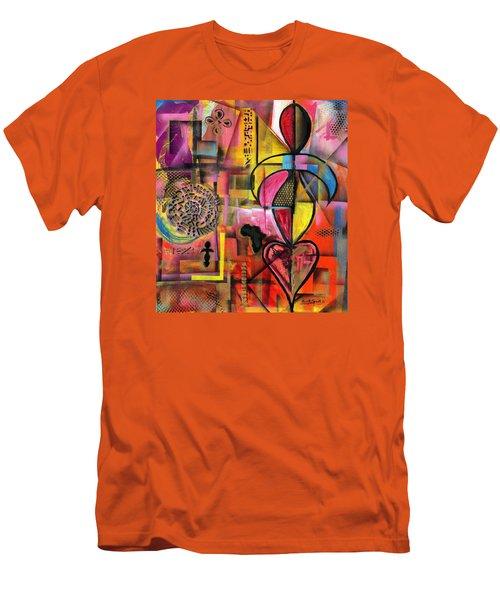 Compassionate Woman X2 Men's T-Shirt (Athletic Fit)
