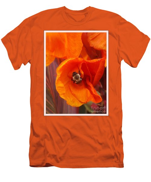 Complimenting One Another Men's T-Shirt (Slim Fit) by Sara  Raber
