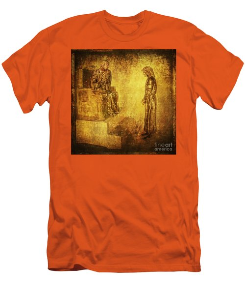 Condemned Via Dolorosa1 Men's T-Shirt (Athletic Fit)