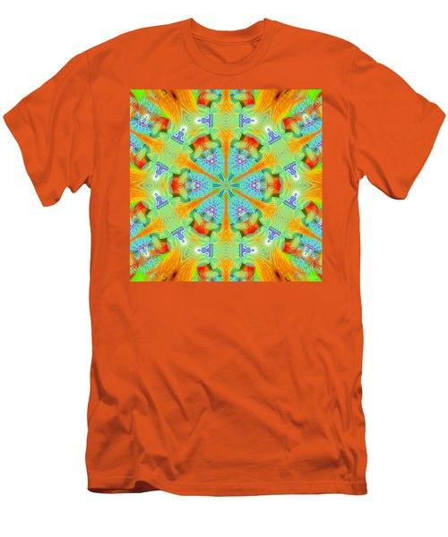 Cosmic Spiral Kaleidoscope 41 Men's T-Shirt (Athletic Fit)
