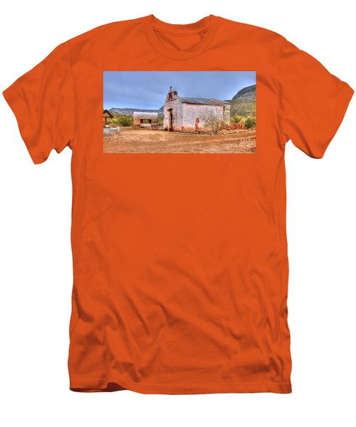 Cowboy Church Men's T-Shirt (Athletic Fit)
