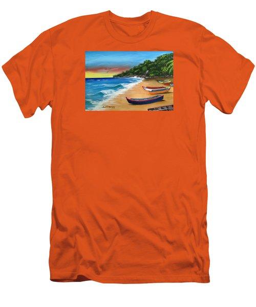 Crashboat Beach Wonder Men's T-Shirt (Athletic Fit)