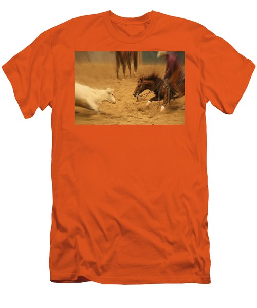 Cutting Horse 8 Men's T-Shirt (Athletic Fit)