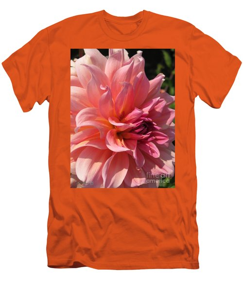 Dahlia Named Fire Magic Men's T-Shirt (Slim Fit) by J McCombie