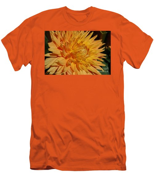 Men's T-Shirt (Slim Fit) featuring the photograph Dahlia Xiii by Christiane Hellner-OBrien
