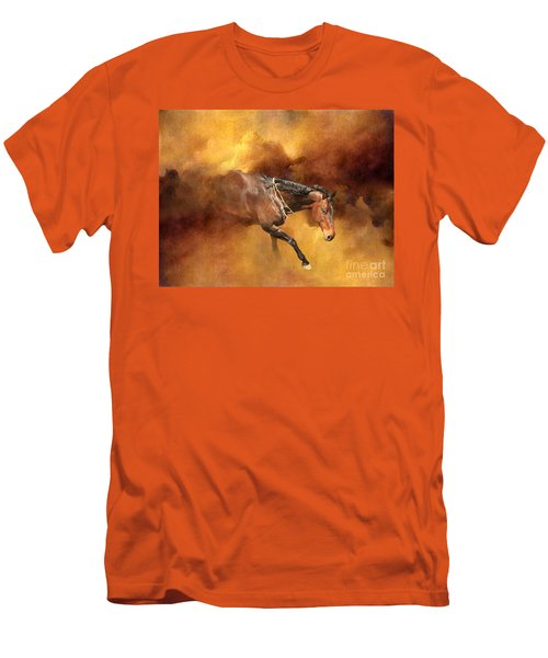 Dancing Free II Men's T-Shirt (Slim Fit) by Michelle Twohig