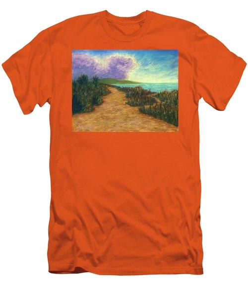 Del Mar Trails 02 Men's T-Shirt (Athletic Fit)