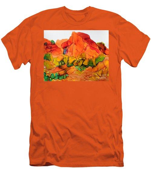 Desert Beauty 6 Men's T-Shirt (Slim Fit) by Vicki  Housel