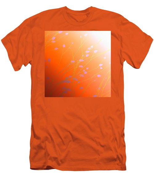 Men's T-Shirt (Slim Fit) featuring the photograph Desert Flowers by Holly Kempe