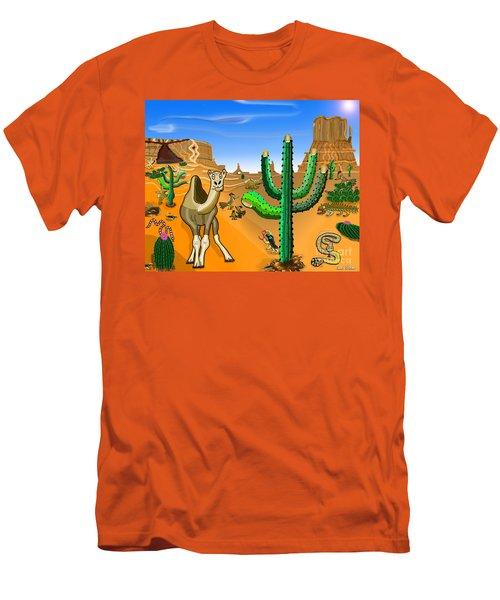 Desert Hands Men's T-Shirt (Athletic Fit)