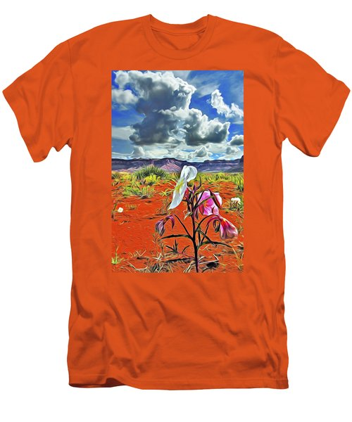 Desert Primrose 3 Men's T-Shirt (Athletic Fit)