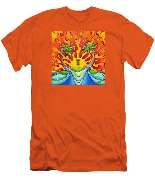 Disc Golfers Paradise Men's T-Shirt (Athletic Fit)
