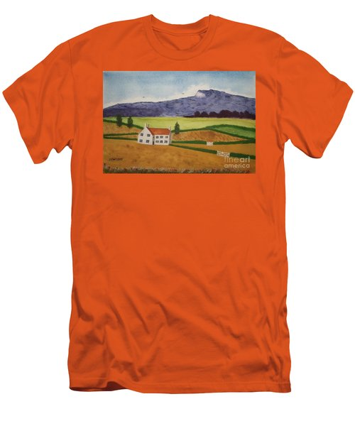 Distant Hills Men's T-Shirt (Slim Fit) by John Williams