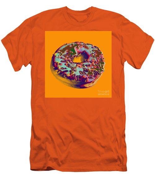 Doughnut Men's T-Shirt (Slim Fit) by Jean luc Comperat