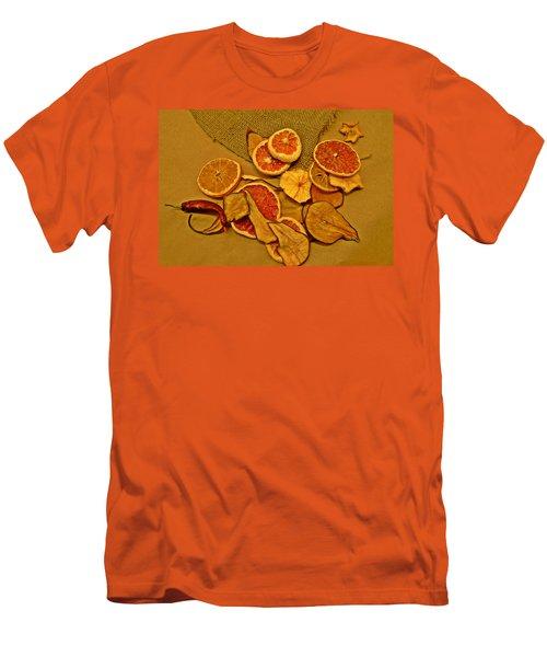 Dried Fruit Men's T-Shirt (Slim Fit)