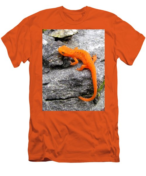 Orange Julius The Eastern Newt Men's T-Shirt (Athletic Fit)