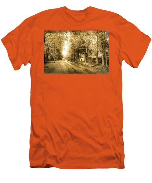 Elkmont Ghost Town Men's T-Shirt (Slim Fit) by Michael Eingle