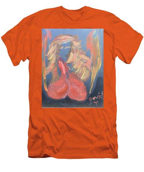 Eros Angel Men's T-Shirt (Slim Fit) by David Trotter