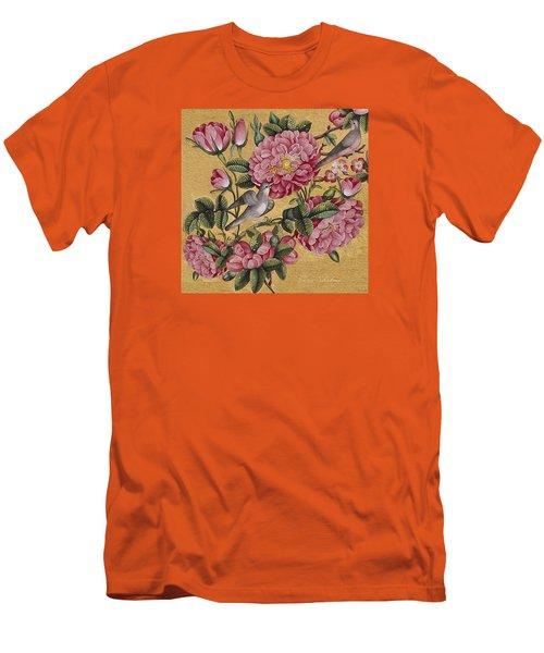 Excotic Camellias Men's T-Shirt (Athletic Fit)