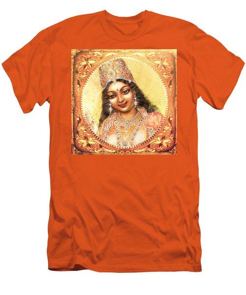 Face Of The Goddess - Lalitha Devi  Men's T-Shirt (Slim Fit) by Ananda Vdovic