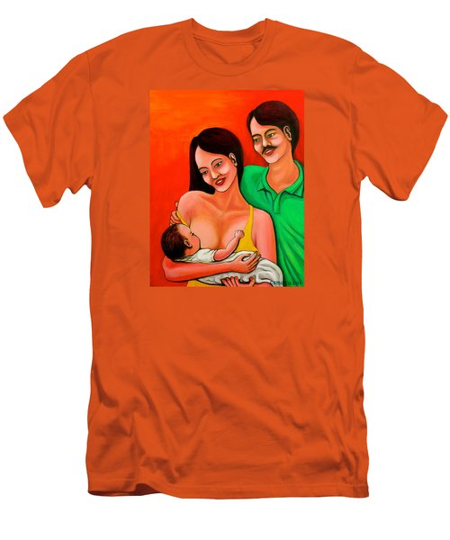 Family Men's T-Shirt (Slim Fit) by Cyril Maza