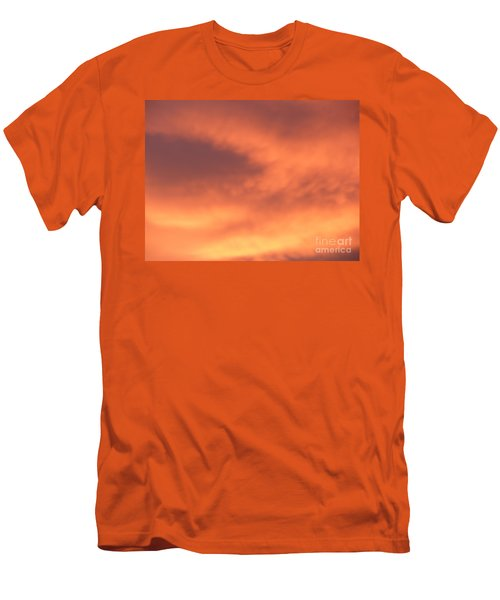 Fire Clouds Men's T-Shirt (Athletic Fit)