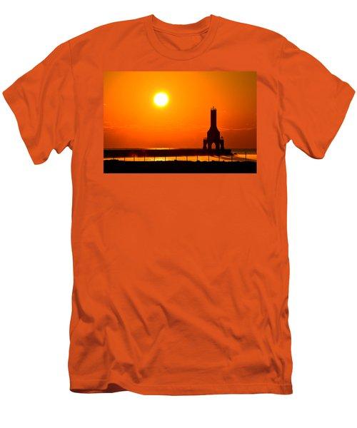 Fire Sky Men's T-Shirt (Athletic Fit)