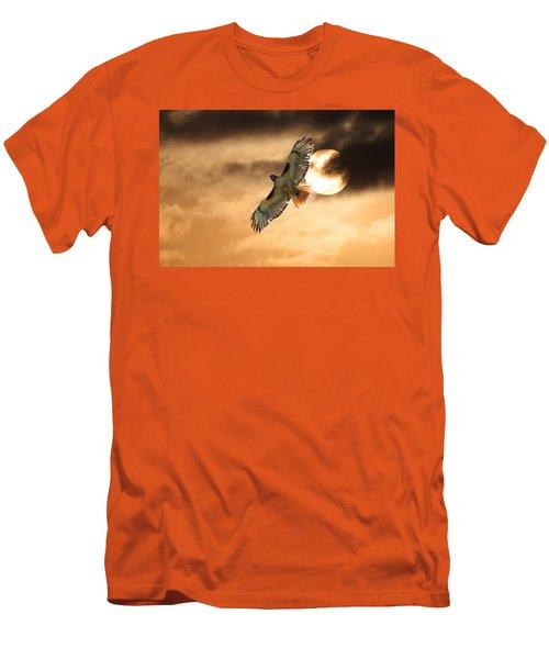 Men's T-Shirt (Slim Fit) featuring the photograph Firebird by Jim Garrison