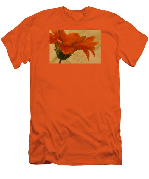 Men's T-Shirt (Slim Fit) featuring the photograph Flaunting Gazani by Sandra Foster